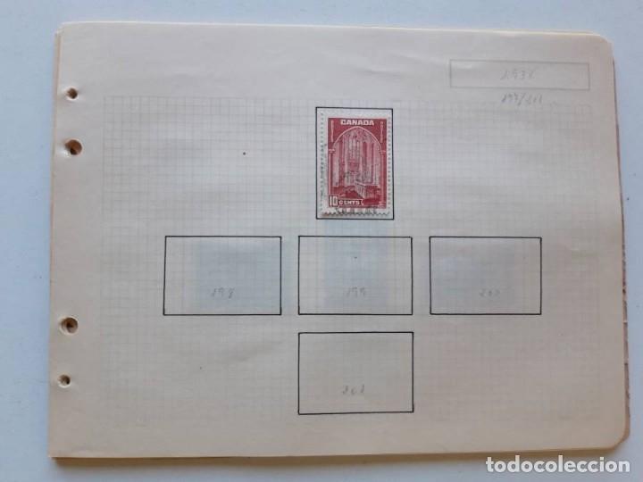 Sellos: Canada 12 hojas de Album de sellos - Foto 25 - 179345307