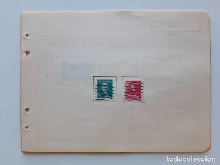 Sellos: Canada 12 hojas de Album de sellos - Foto 2 - 179345316