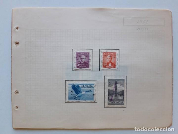 Sellos: Canada 12 hojas de Album de sellos - Foto 9 - 179345316