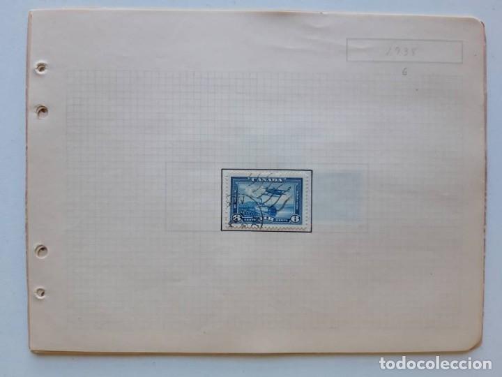 Sellos: Canada 12 hojas de Album de sellos - Foto 11 - 179345316