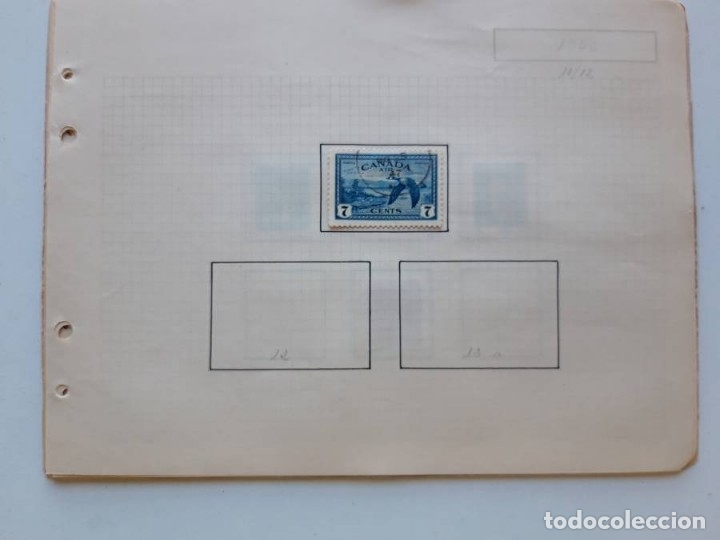 Sellos: Canada 12 hojas de Album de sellos - Foto 15 - 179345316
