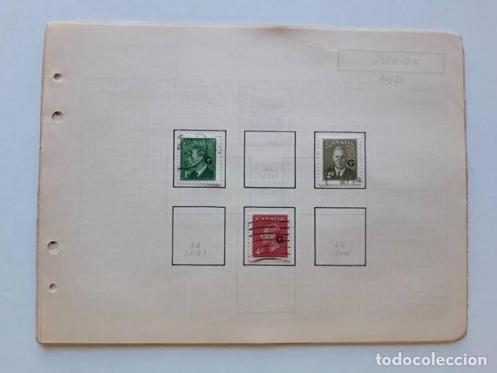 Sellos: Canada 12 hojas de Album de sellos - Foto 16 - 179345316