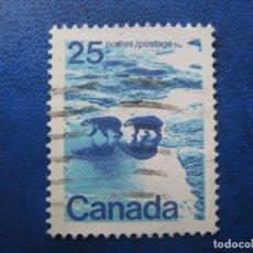 Sellos: -CANADA 1971, YVERT 474. Lote 179528011
