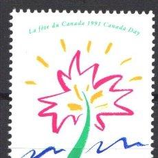 Sellos: CANADA, 1991 YVERT Nº 1190 /**/, SIN FIJASELLOS. Lote 180037386