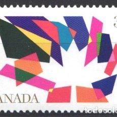 Sellos: CANADA, 1990 YVERT Nº 1139 /**/, SIN FIJASELLOS. Lote 180039260