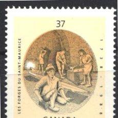 Sellos: CANADA, 1988 YVERT Nº 1062 /**/, SIN FIJASELLOS. Lote 180041225
