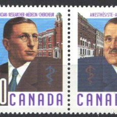 Sellos: CANADA, 1991 YVERT Nº 1176 / 1179 /**/, SIN FIJASELLOS. Lote 180041661