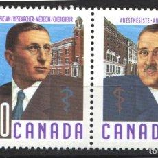 Sellos: CANADA, 1991 YVERT Nº 1176 / 1179 /**/, SIN FIJASELLOS. Lote 180041687