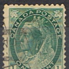 Sellos: (CA 6) CANADA // YVERT 63 // 1898-03. Lote 181953457