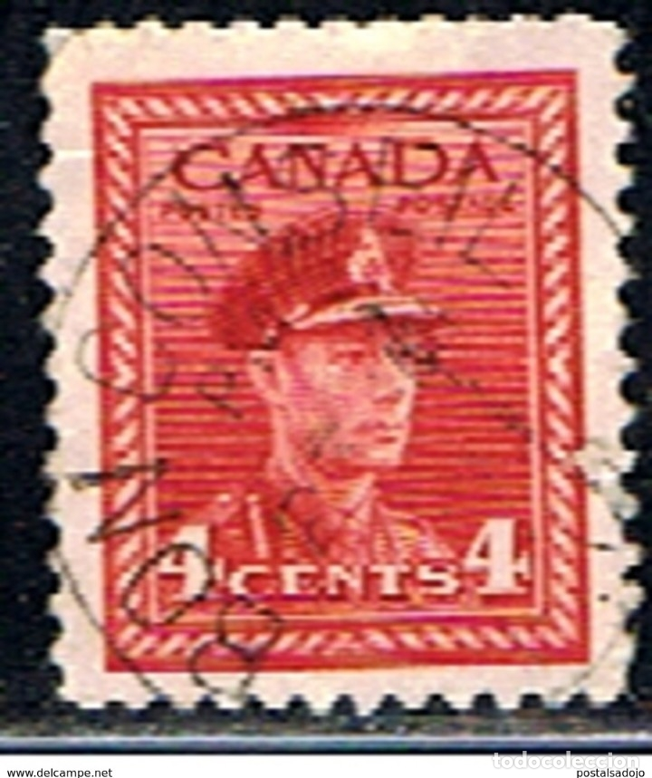 SELLO DE CANADA // YVERT 209 // 1943-46 (Sellos - Extranjero - América - Canadá)