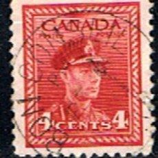 Sellos: (CA 224) SELLO DE CANADA // YVERT 209 // 1943-46. Lote 182619717