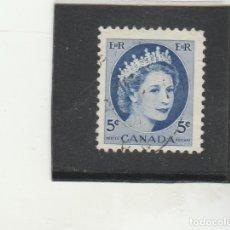 Sellos: CANADA 1954 - YVERT NRO. 271 - USADO - FOTO ESTANDAR. Lote 182690901