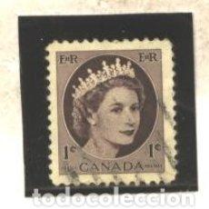 Sellos: CANADA 1954 - YVERT NRO. 267 - USADO - FOTO ESTANDAR. Lote 182691158