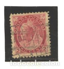 CANADA 1898 - YVERT NRO. 65 - USADO - FOTO ESTANDAR (Sellos - Extranjero - América - Canadá)