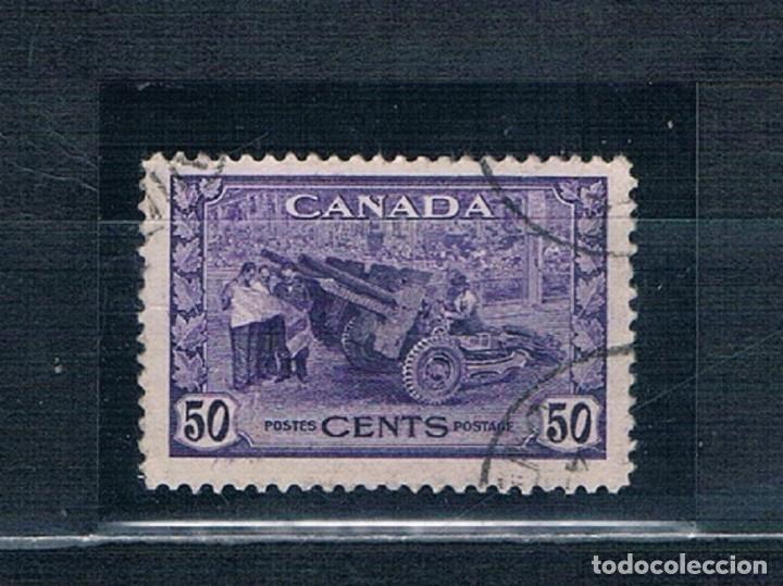 SELLOS USADOS CANADA 1942/1943 YVES 217 (Sellos - Extranjero - América - Canadá)