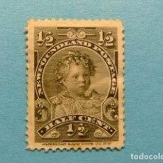 Sellos: NEWFOUNDLAND TERRANOVA TERRE NEUVE 1897 - 1901 PRINCE EDOUARD YVERT 63 (*). Lote 183208708