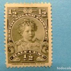 Sellos: NEWFOUNDLAND TERRANOVA TERRE NEUVE 1897 - 1901 PRINCE EDOUARD YVERT 63 (*). Lote 183208753