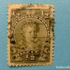 Sellos: NEWFOUNDLAND TERRANOVA TERRE NEUVE 1897 - 1901 PRINCE EDOUARD YVERT 63 º FU. Lote 183208851
