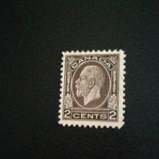 Sellos: SELLOS ANTIGUO CANADÁ CON GOMA. Lote 185709643