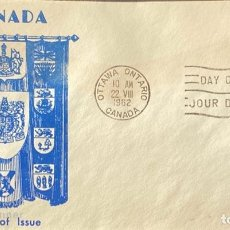 Sellos: SOBRE PRIMER DIA. DAY OF ISSUE. OTAWA ONTARIO. CANADA, 1962. . Lote 186141570