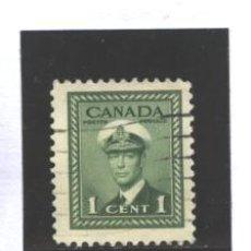 Sellos: CANADA 1943-48 - YVERT NRO. 205 - USADO - FOTO ESTANDAR. Lote 186202783