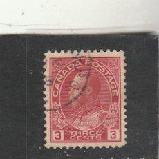 Sellos: CANADA 1923 - YVERT NRO. 111 - USADO - FOTO ESTANDAR. Lote 186203563