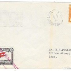 Sellos: VUELO COMPAÑIA PRIVADA CHERRY LANE 1930 DE WASKESIU LAKE HASTA PRINCE ALBERT. Lote 190383901