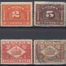 Sellos: F-EX8295 CANADA REVENUE STAMPS LOT. CUSTOM INSPECTION.. Lote 190652450