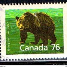 Sellos: CANADA // YVERT 1082 // 1989 ... USADO. Lote 190736300