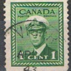 Sellos: CANADA // YVERT 205 // 1943-48 ... USADO. Lote 190737998