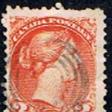 Sellos: CANADA // YVERT 30 // 1870-93 ... USADO. Lote 190738797