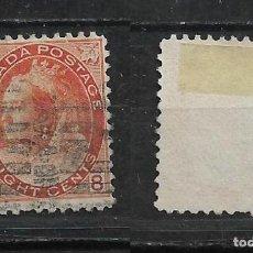 Sellos: CANADA 1898 SCOTT 82 A32 8C ORANGE. 22.50 - 15/28. Lote 192725706