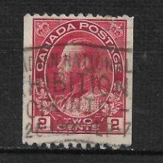 Sellos: CANADA 1915 SCOTT 132 - 15/28. Lote 192762257