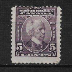 Sellos: CANADA 1927 SCOTT 144 * - 15/28. Lote 192763778