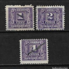 Sellos: CANADA 1930-32 USADO - 15/32. Lote 192944995