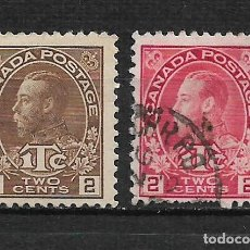 Sellos: CANADA 1915 USADO - 15/32. Lote 192945235