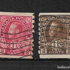 Sellos: CANADA 1915 USADO - 15/32. Lote 192945292