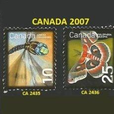 Sellos: CANADA VARIOS AÑOS - 4 SELLOS USADOS - TEMA ANIMALES. Lote 194081027