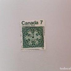 Sellos: CANADÁ SELLO USADO . Lote 194864406