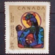 Sellos: CANADA NAVIDAD SELLO USADO. Lote 195317485