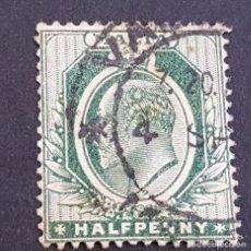 Sellos: MALTA,1903-1904, EDUARDO VII, YVERT 18, SCOTT 21, USADO, (LOTE AG). Lote 198797907