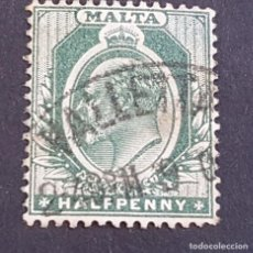 Sellos: MALTA,1903-1904, EDUARDO VII, YVERT 18, SCOTT 21, USADO, (LOTE AG). Lote 198799606