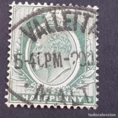 Sellos: MALTA,1903-1904, EDUARDO VII, YVERT 18, SCOTT 21, USADO, (LOTE AG). Lote 198799660