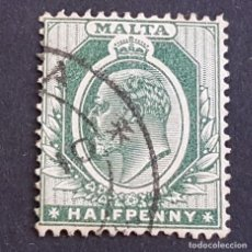Sellos: MALTA,1903-1904, EDUARDO VII, YVERT 18, SCOTT 21, USADO, (LOTE AG). Lote 198799707
