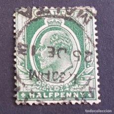 Sellos: MALTA,1903-1904, EDUARDO VII, YVERT 18, SCOTT 21, USADO, (LOTE AG). Lote 198799842