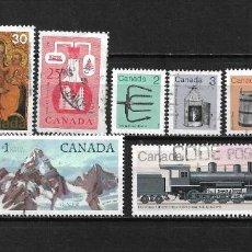 Sellos: CANADA LOTE SELLOS USADOS - 20/17. Lote 199638121