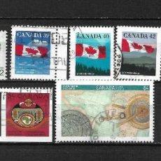 Sellos: CANADA LOTE SELLOS USADOS - 20/17. Lote 199638205