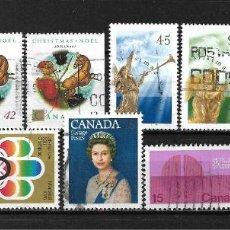 Sellos: CANADA LOTE SELLOS USADOS - 20/17. Lote 199638276