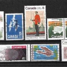 Sellos: CANADA LOTE SELLOS USADOS - 20/17. Lote 199638386