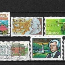 Sellos: CANADA LOTE SELLOS USADOS - 20/17. Lote 199638405